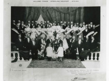 Willemsfonds Nieuwpoort, 25 jaar  1901