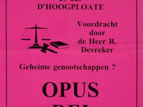 Willemsfonds Blankenberge, 25 jaar 1992